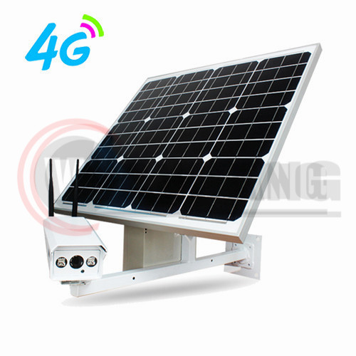 3G 4G outdoor wireless solar power security ip camera