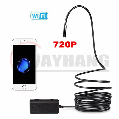 8.5mm 2.0 Megapixel 720P HD WiFi USB Endoscope 1M/2M/3.5M/5M/10M
