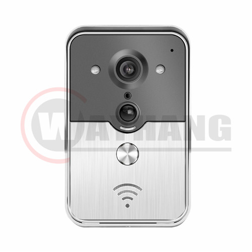720P WIFI Doorbell Camera With Night vision Work with Android&IOS App