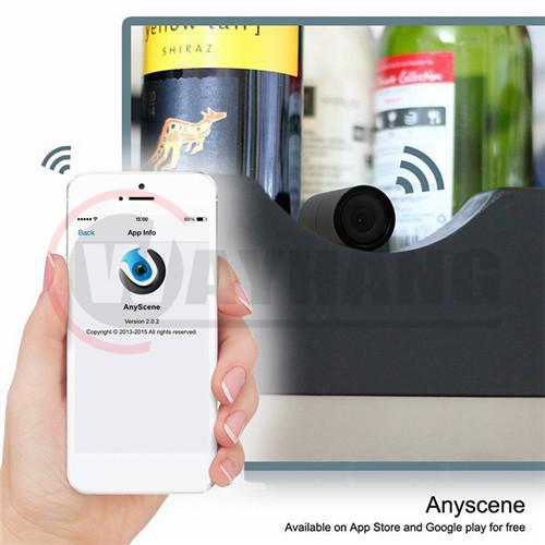 Black 1080p camera hidden wifi wireless poe ip camera external