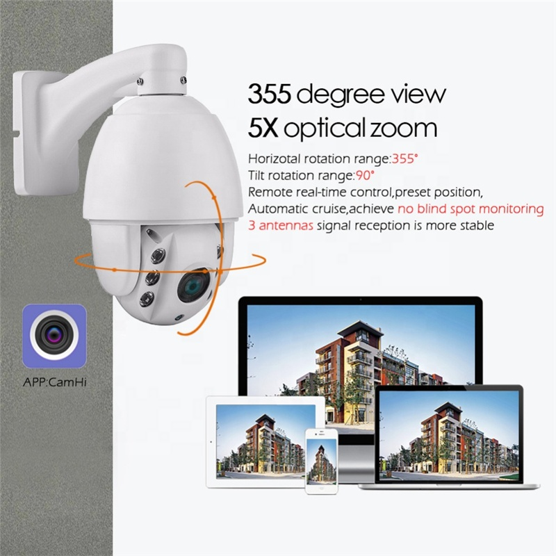 4G SIM Card Solar IP Camera 2MP Wireless Security Surveillance Waterproof Outdoor Solar Powered Camera