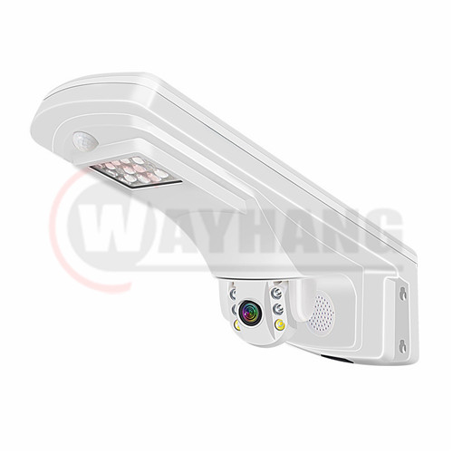 1080P All in one led street light with outdoor cctv camera