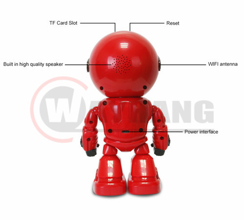 Robot WIFI Camera IP HD CCTV Home Security Baby Monitor